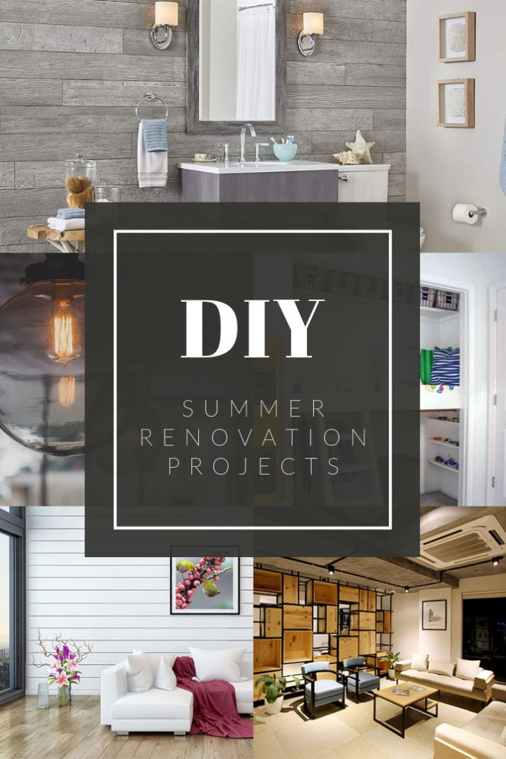 Cool and Unique DIY Home Renovation Ideas for This Summer