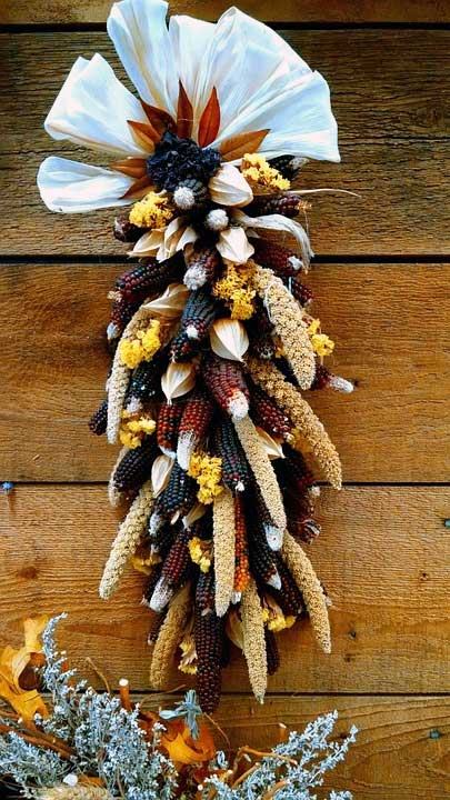 Indian Corn Fan