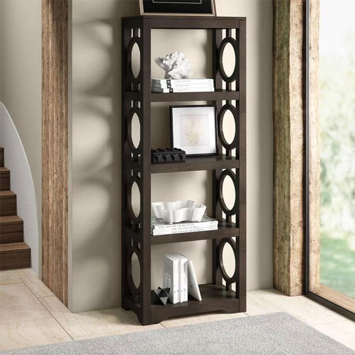 Kinsey Etagere Bookcase
