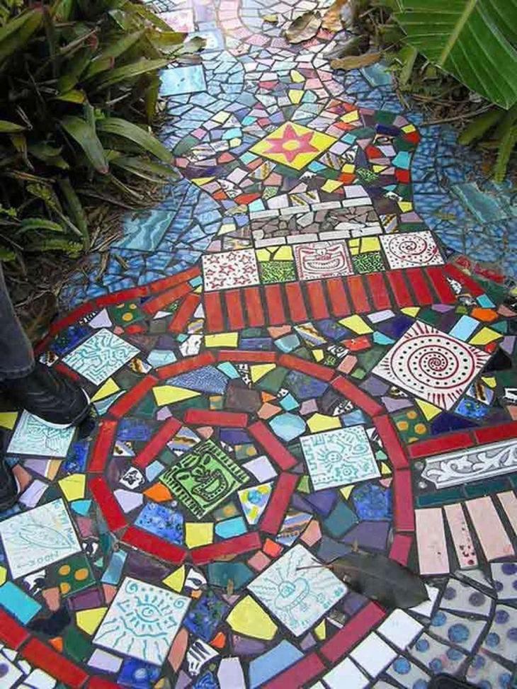 Mosaic Garden Path