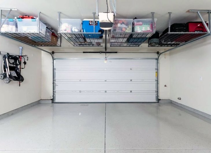 DIY Garage Hacks | Overhead Garage Storage Bins