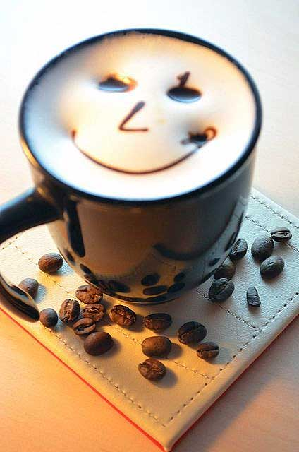 Smiley Face Latte