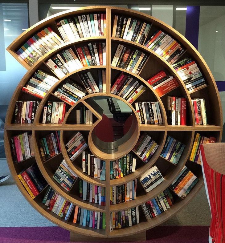 Spiral Bookcase
