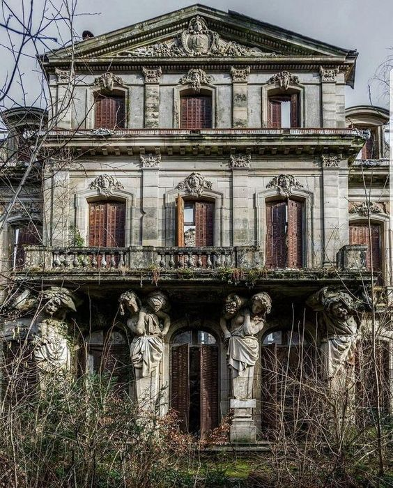 Stately Abandoned Home