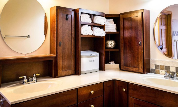Unique Bathroom Storage Shelves