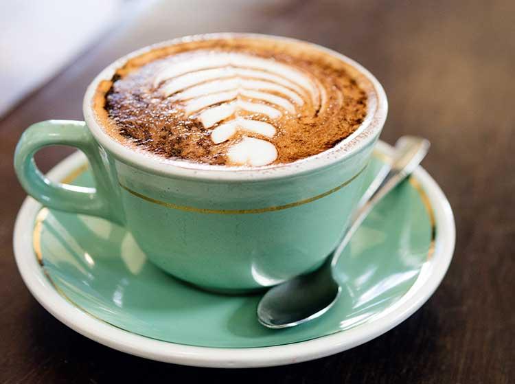 Wi-Fi Symbol Latte Art