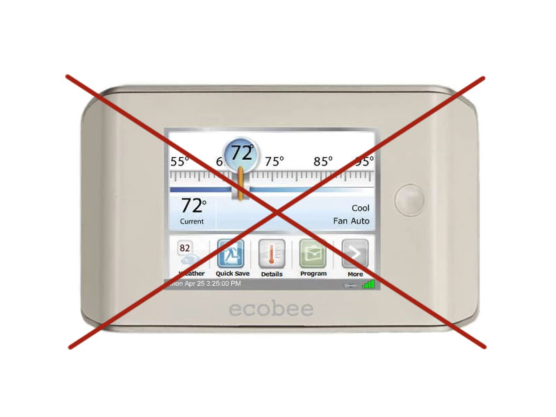Ecobee Smart Thermostat Won't Connect to WiFi Anymore