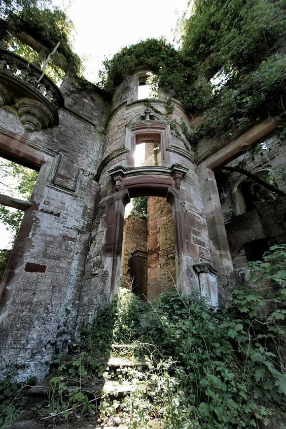 Milkbank House Ruins Lockerbie Scotland