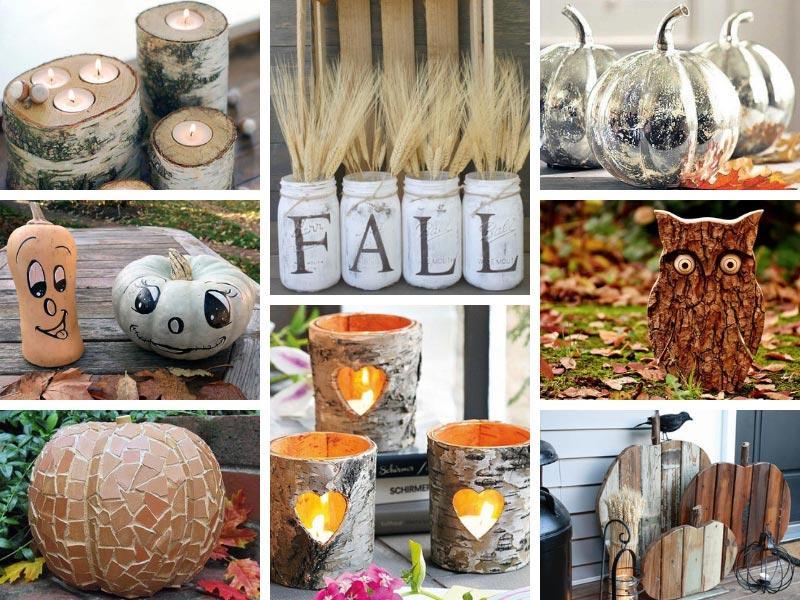 88 Awesome DIY Fall Decor Ideas for the Home \u0026 Garden