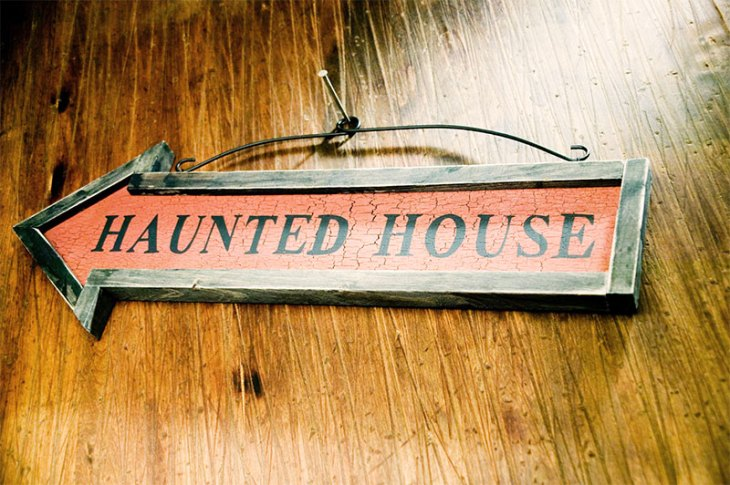 Tour a Family Friendly Haunted House