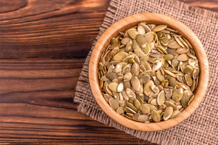 Roast Pumpkin Seeds as a treat for the whole family