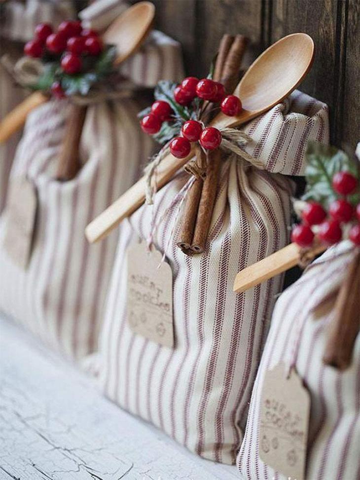 Christmas Sugar Cookie Sack DIY Christmas Gifts