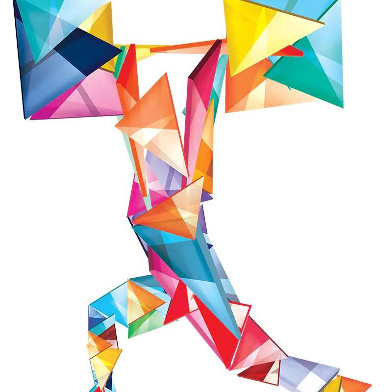Cubic Fitness Art Printable
