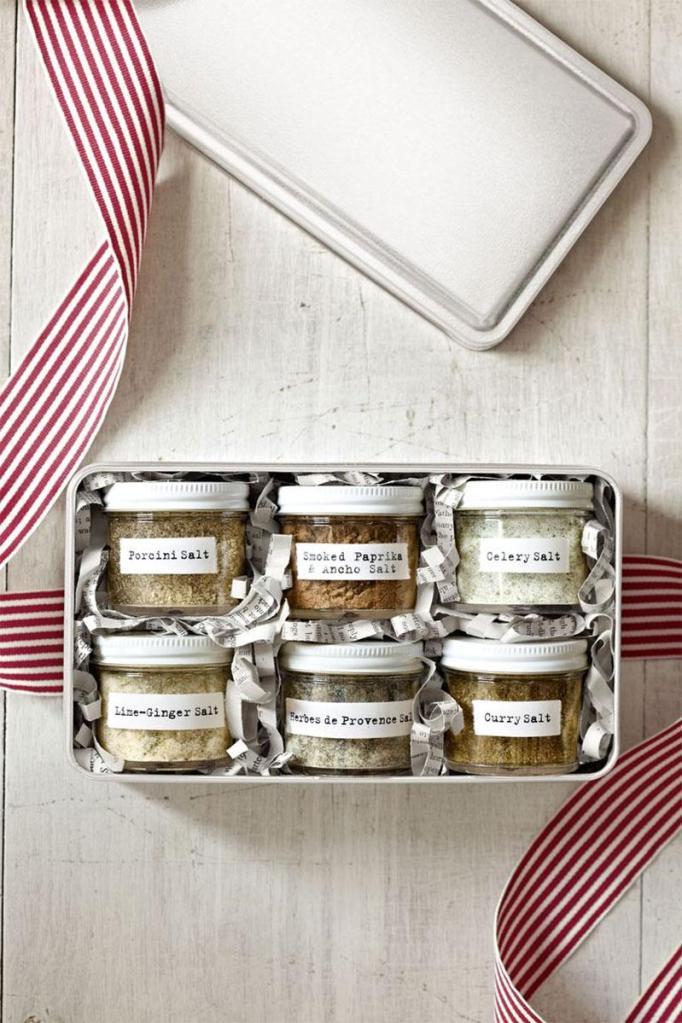 DIY Flavored Salts Gift Box