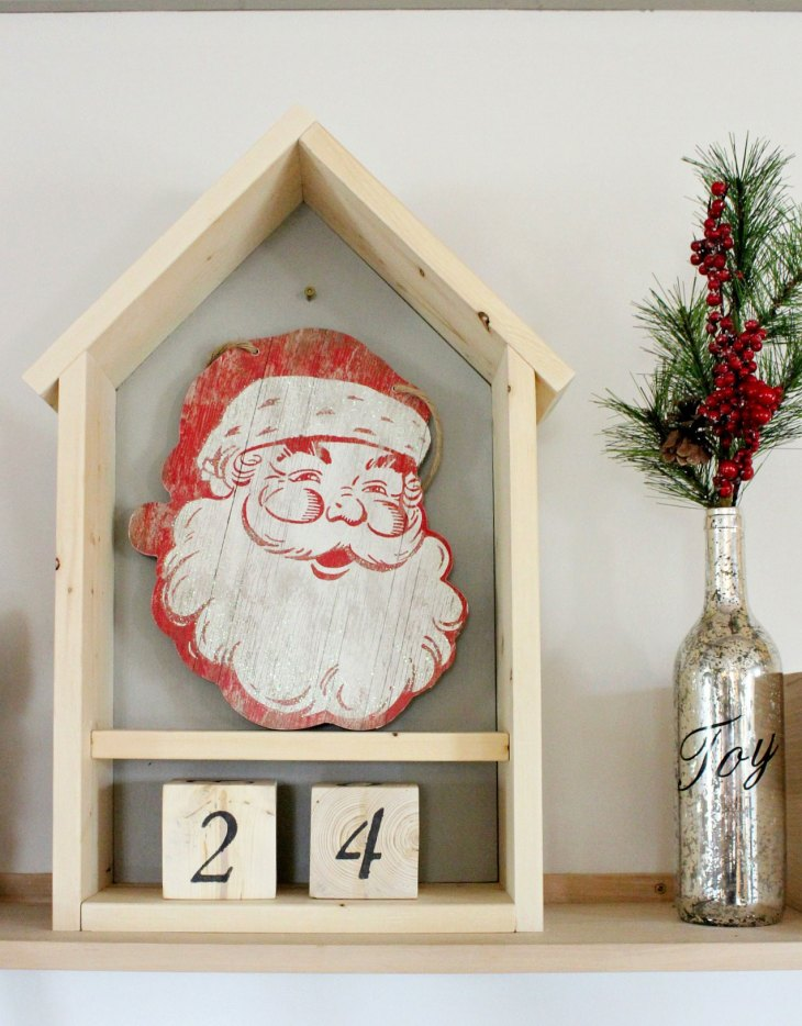 DIY Wood Advent Calendar