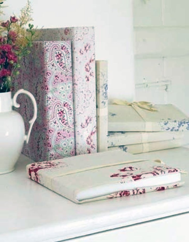 Fabric-Covered Journals