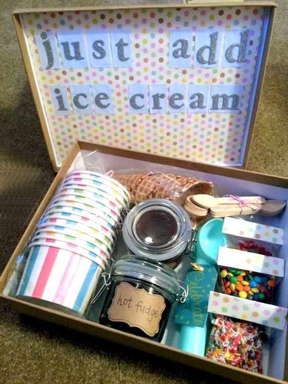 Ice Cream Sundae Box