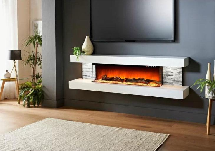 Katlyn Wall Mounted Fireplace