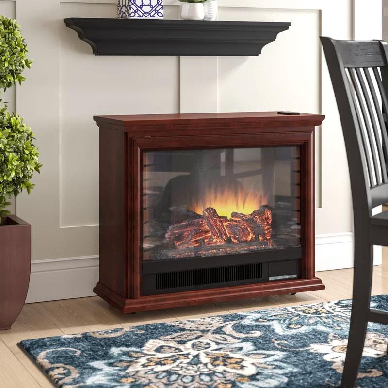 McGregor Mobile Fireplace