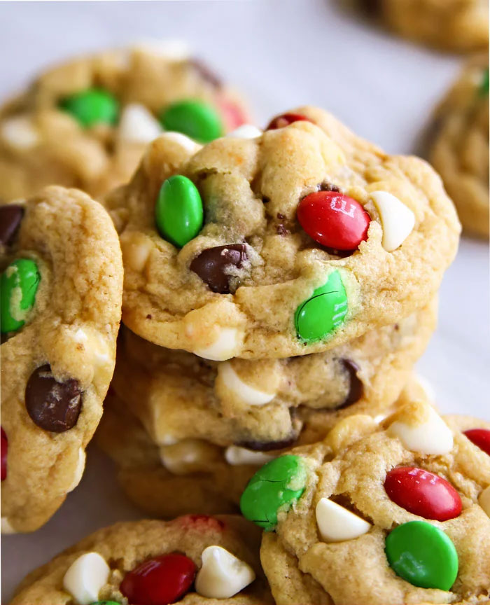 Santa's Favorite Chocolate Chip Cookies