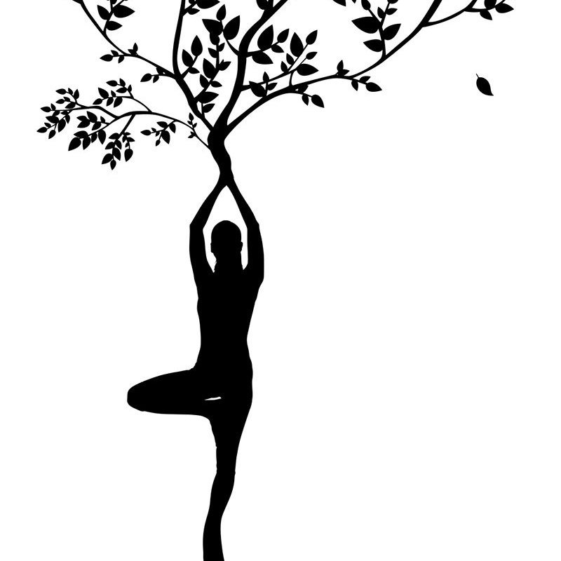 Woman Yoga Tree Fitness Printable