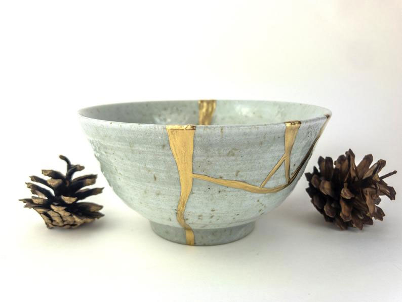 High Bohemia Kintsugi  Bowl