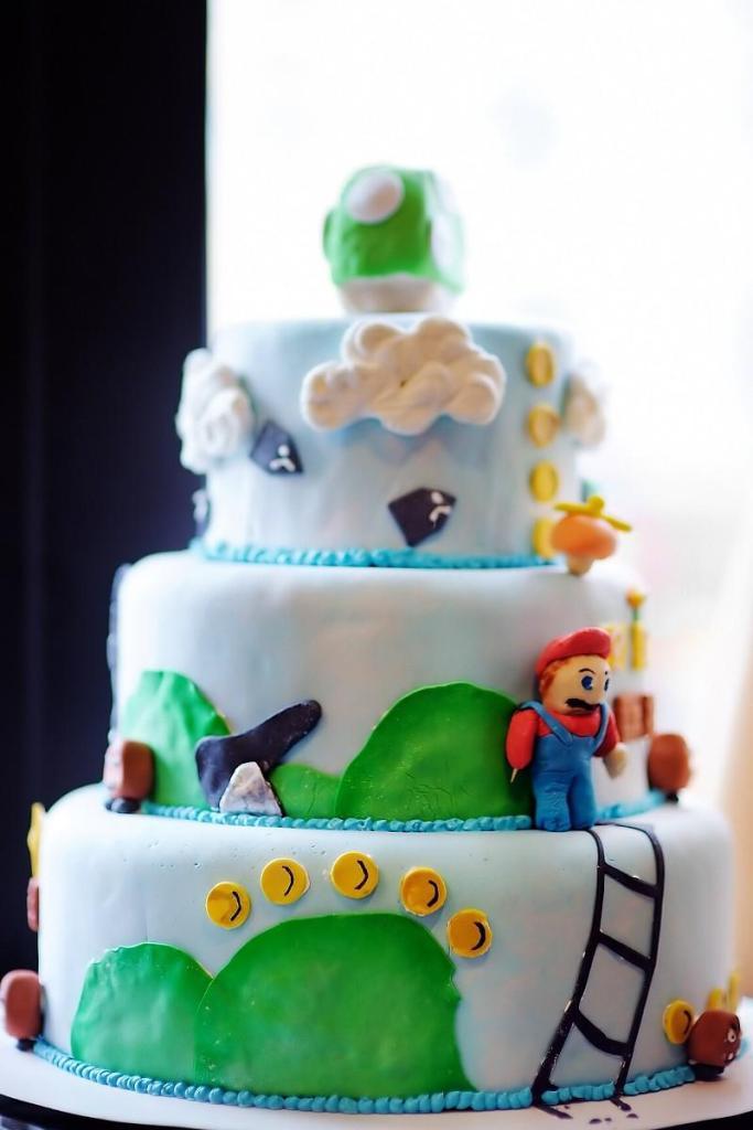 Birthday Cake Ideas for Boys - Super Mario Brothers