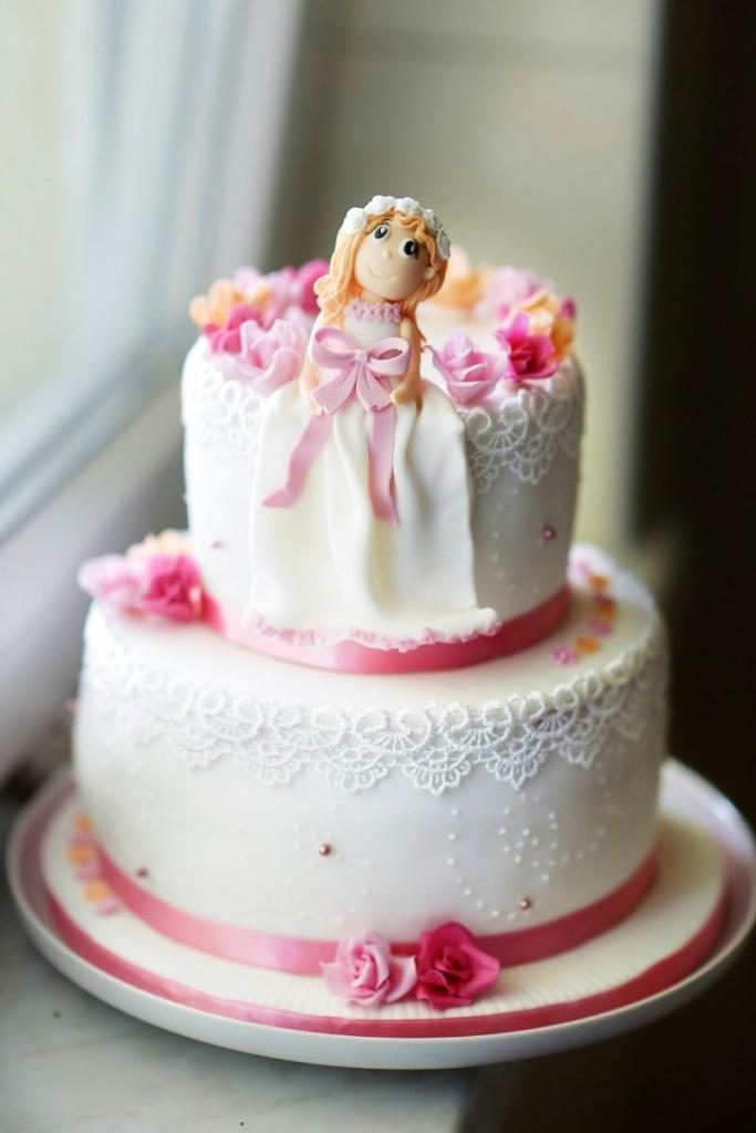 Birthday Cake Ideas for Girls - Doll Cake