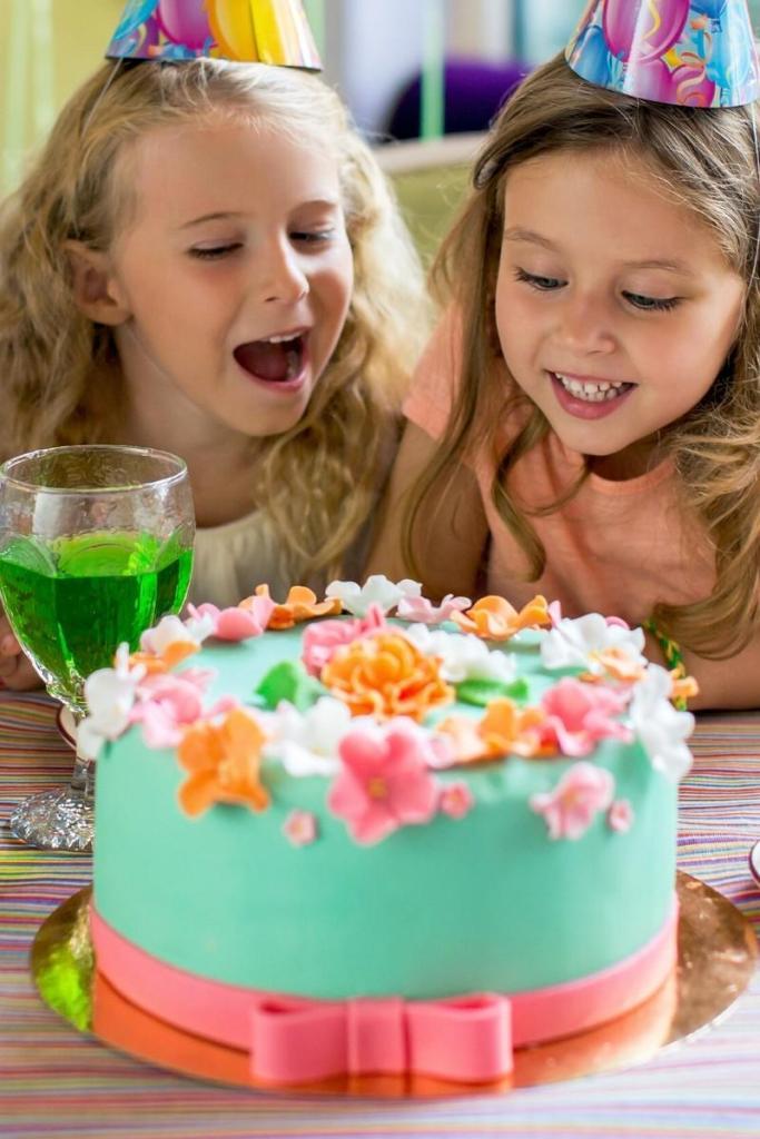 Birthday Cake Ideas for Girls - Spring Flowers