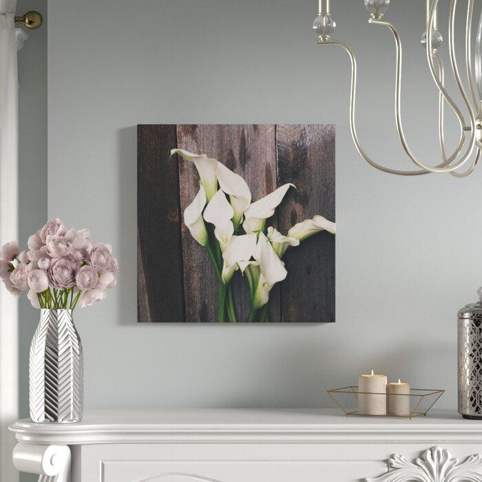 Calla Lilies by Olivia Joy Photographic Canvas Print