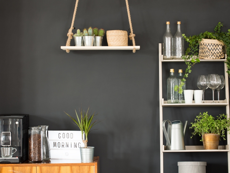 A fresh coat of paint can make a big difference in a kitchen