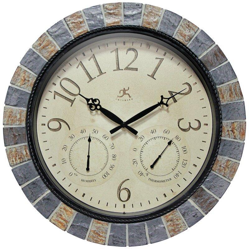 Infinity Instruments Inca II All Weather Outdoor Clock