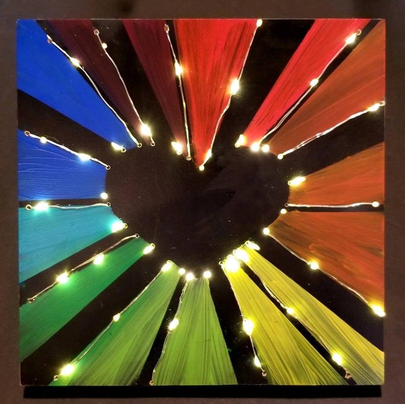 LGBTQ Love in Lights
