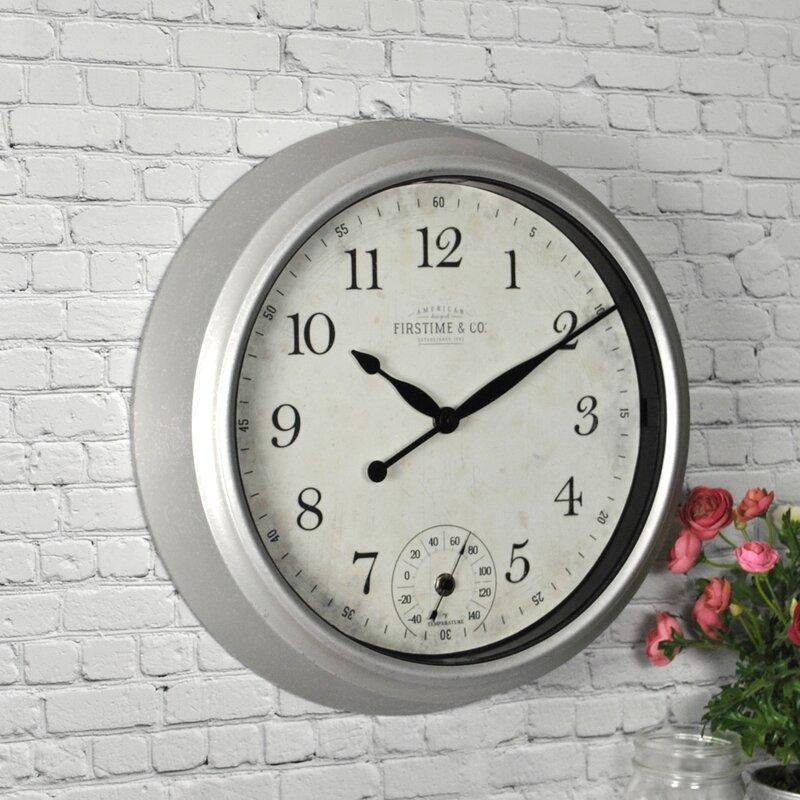 Porch Outdoor Wall Clock