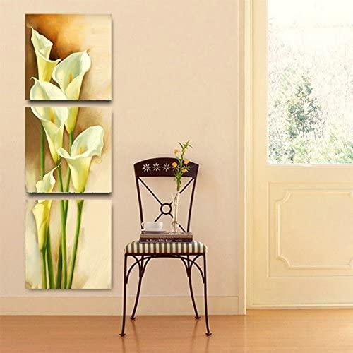 Yellow Calla Lily 3-Piece Canvas Art Set