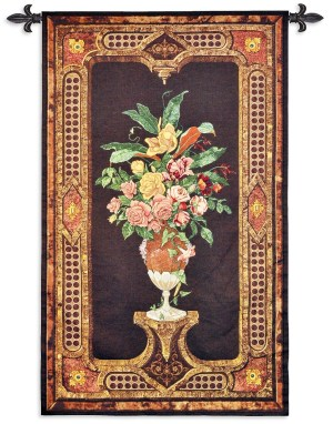 Anemone | Traditional Floral Wall Tapestry | 57 x 34