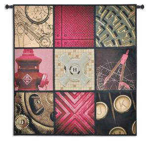 Applied Art | Woven Contemporary Art Tapestry | 53 x 53