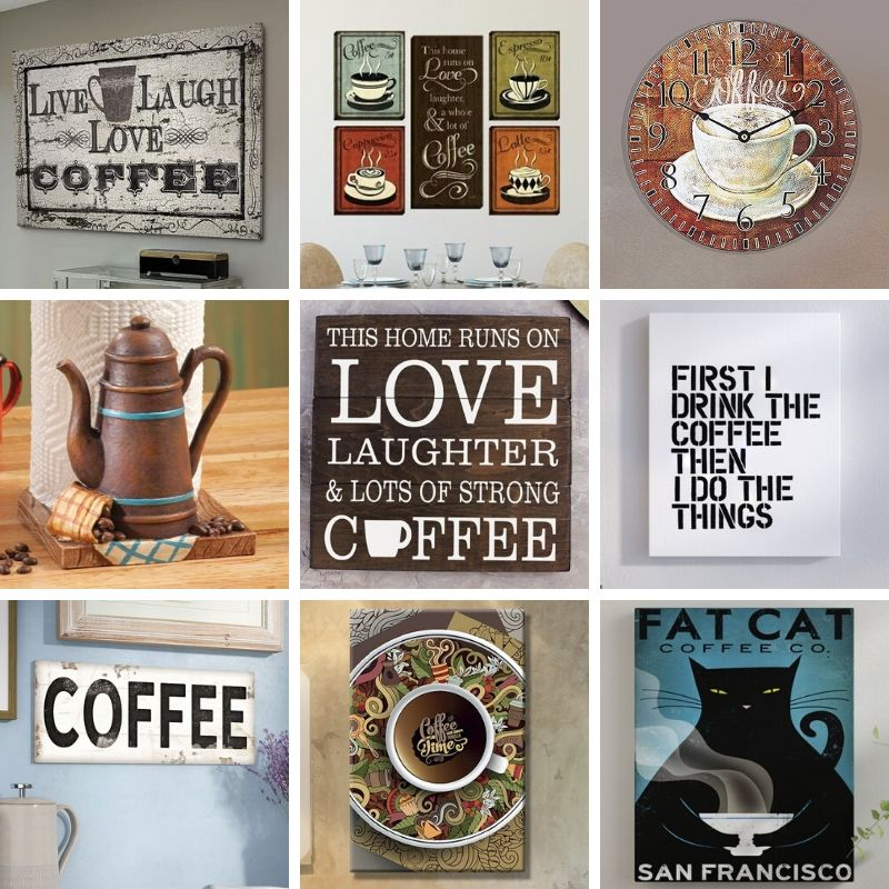 Buy Coffee Art  Decor Online