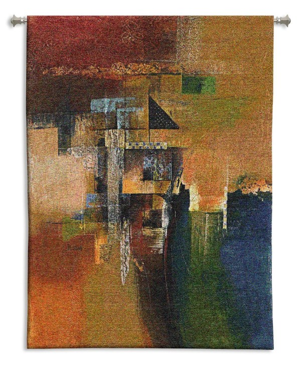 Desert Jewel | Abstract Wall Tapestry | 53 x 39
