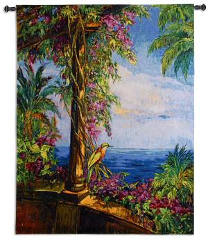 El Mirador | Amalfi Coast | Woven Tapestry Wall Hanging | 53 x 42