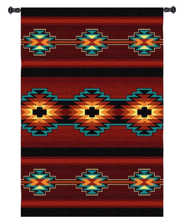 Esme | Southwest Pattern Woven Tapestry | 73 x 53