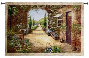 Secret Garden I | Wall Tapestry | 37 x 55