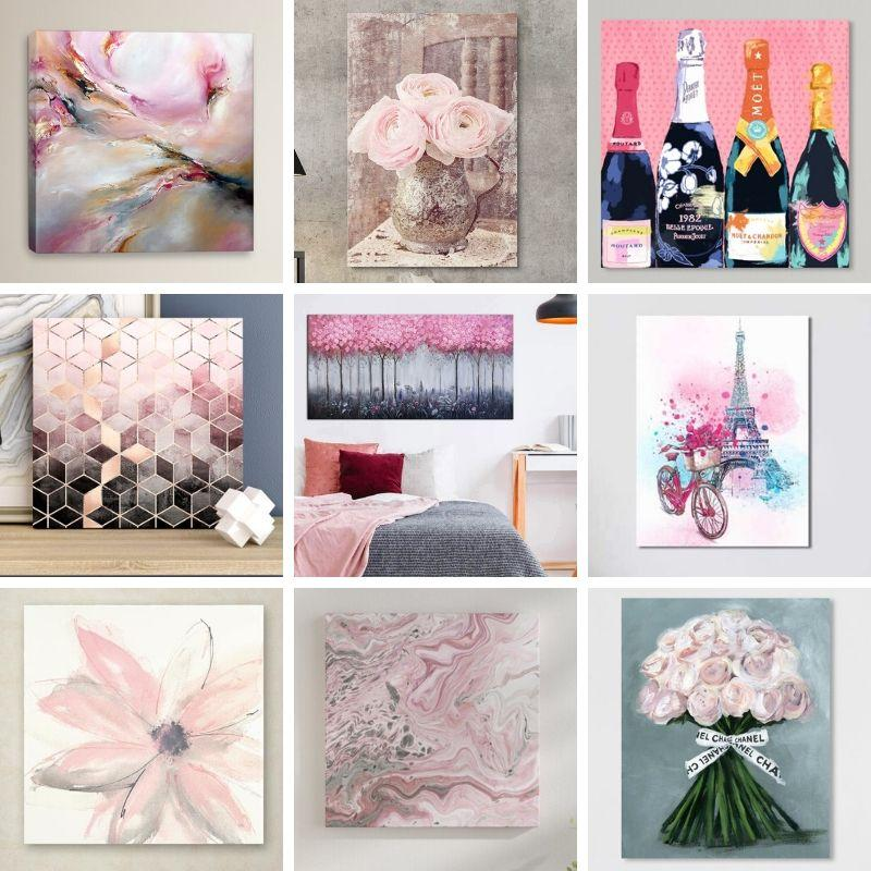 Shop for Pink Wall Art