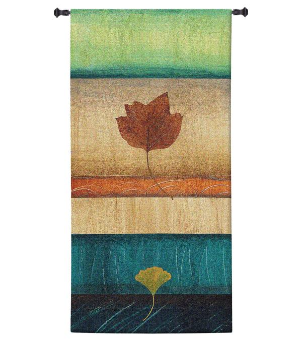 Springing Leaves II | Large Wall Tapestry | 60 x 31