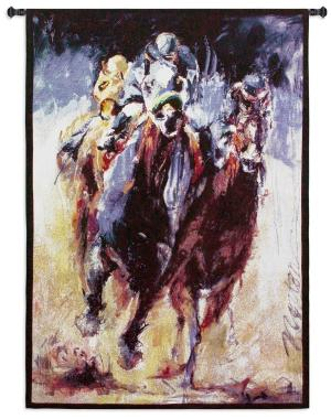 Stretch | Horse Race Wall Tapestry | 53 x 38