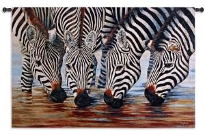 Stripes   Zebra Wall Tapestry   52 x 34