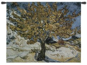 The Mulberry Tree by van Gogh | Art Tapestry | 44 x 53