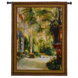 The Palm House | Woven Art Tapestry | 53 x 42