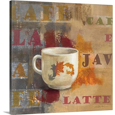 Urban Cafe I by Silvia Vassileva Coffee Art Print