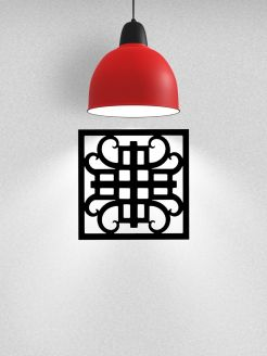 Wrought Iron Art Tiles Single